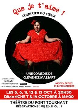 Clémence Massart - Que je t'aime !